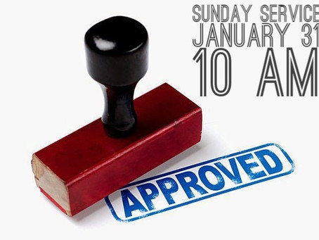 Virtual Sunday Service - January 31, 2021