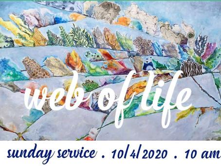 Virtual Sunday Service - October 4, 2020