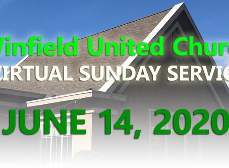 Virtual Sunday Service - June 14, 2020