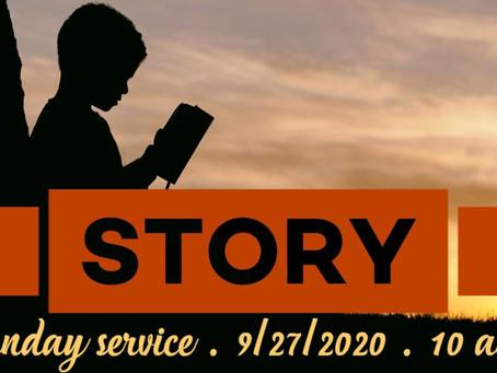 Virtual Sunday Service - September 27, 2020