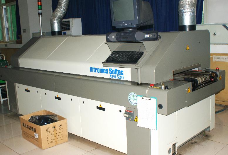 Vitronics Reflow Soldering