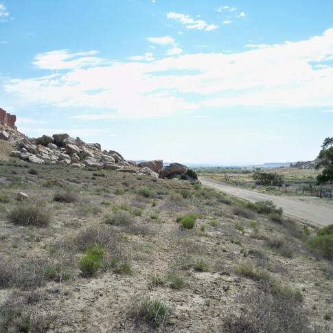 Sanostee project area.