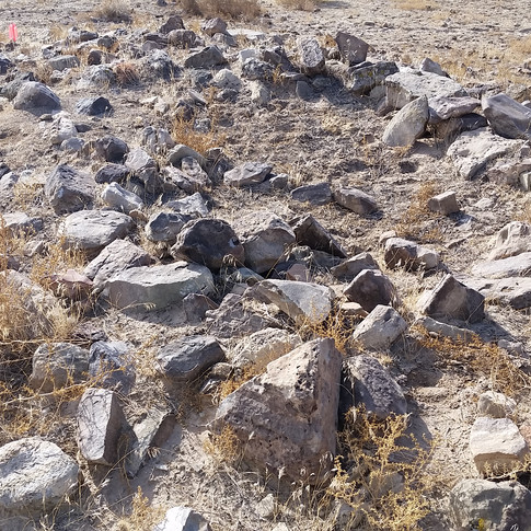 Anasazi habitation site.
