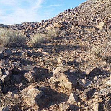 Anasazi habitation.