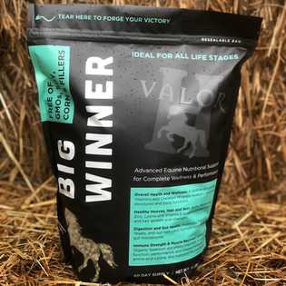 Horse Supplement Packaging