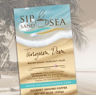 Coffee Bag Label