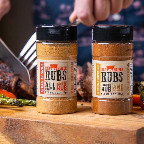 Logo & Spice Rub Packaging