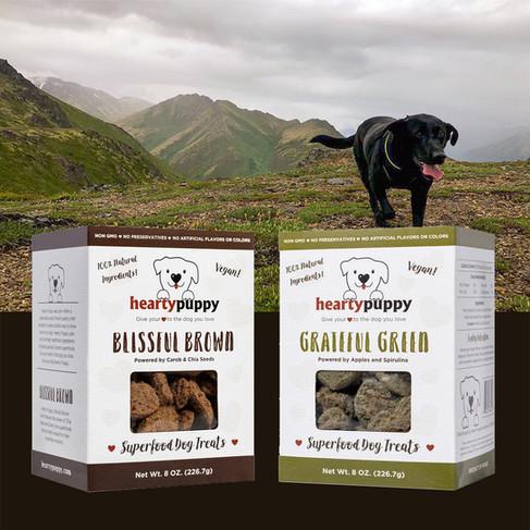Logo & Dog Treat Packaging