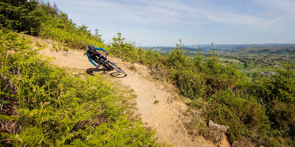 Caersws DH Bike Park Uplift Saturday