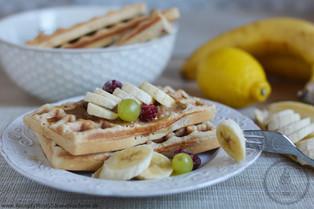 Dokonalé škoricové wafle (bez laktózy)