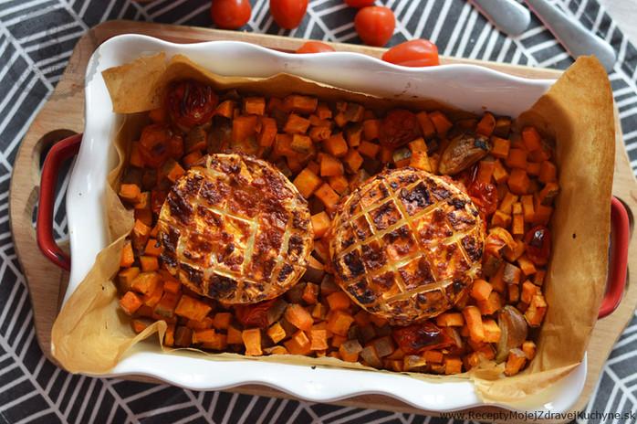 Grilovaný camembert s cesnakom a čili