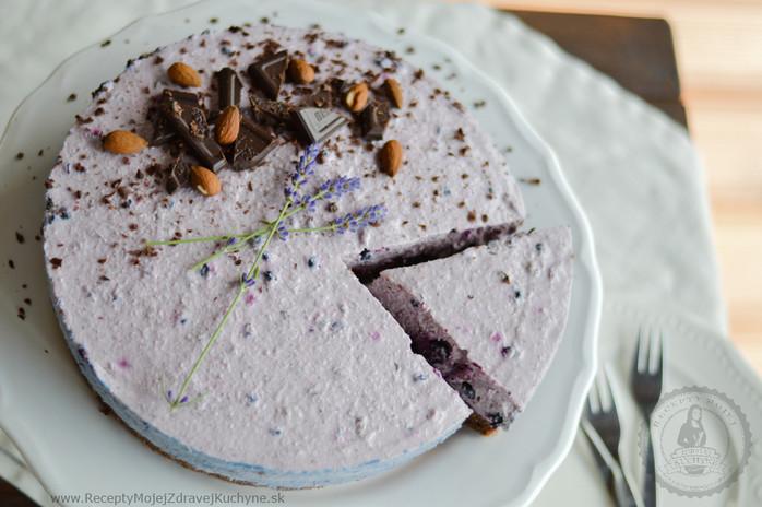 Brownie torta s čučoriedkovo-kokosovým krémom