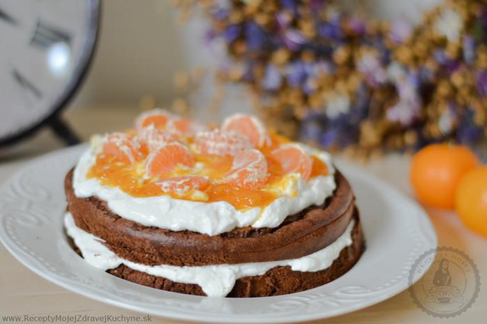 Najlepšia čokoládová torta s mandarinkami a badyánom