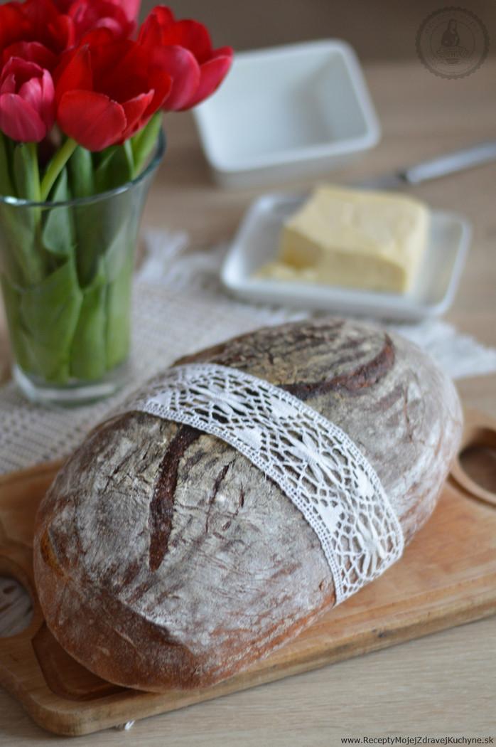 Ako upiecť kváskový chlieb
