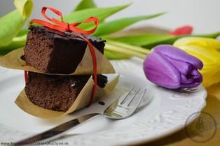 Cvilkové brownies bez múky a cukru