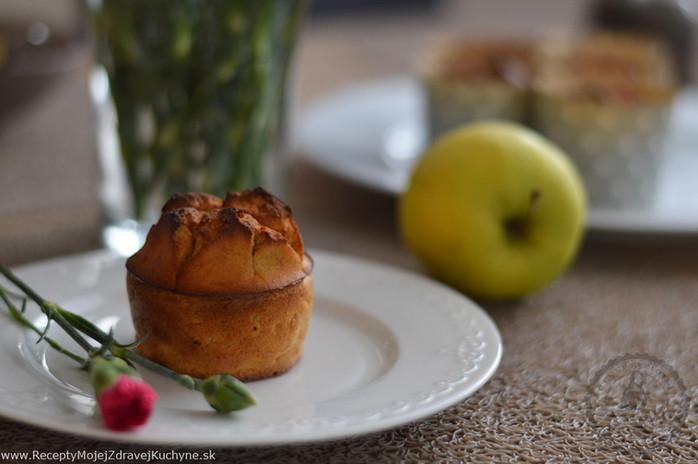 Jablkové muffiny