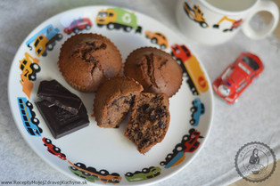 Existujú čokoládové muffiny?