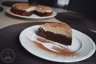 Kávová torta bez múky