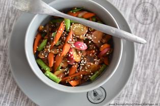 Chrumkavá zeleninová panvička