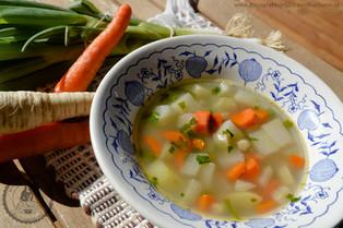 Zeleninová polievka pre začiatočníkov