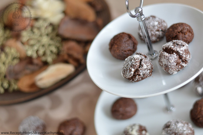 Perníkové crinkles s čokoládou