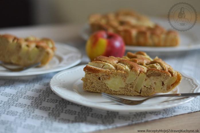 Ovsený koláč s jablkami