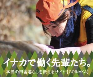 地方自治体への提案  GOINAKA