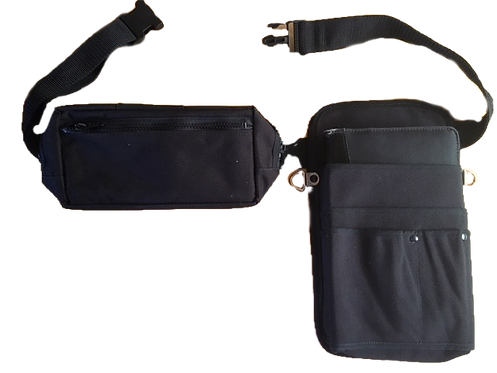 Compact Fanny Pack With Built-In Wallet / FP109