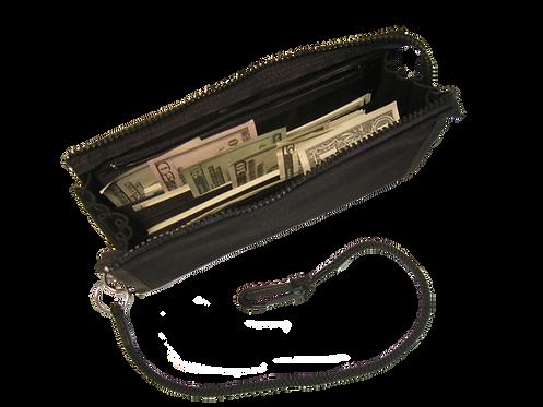 Large Zipper Closure Slot Wallet / SW 100