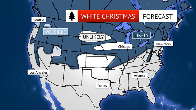 White Christmas Forecast.Are We Going To Have A White Christmas