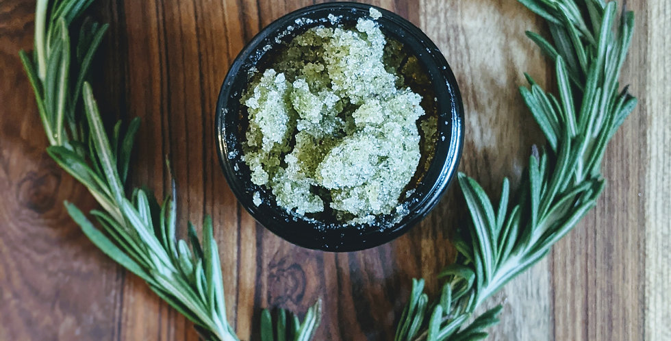 Limited Release: Rosemary Peppermint Sugar Scrub