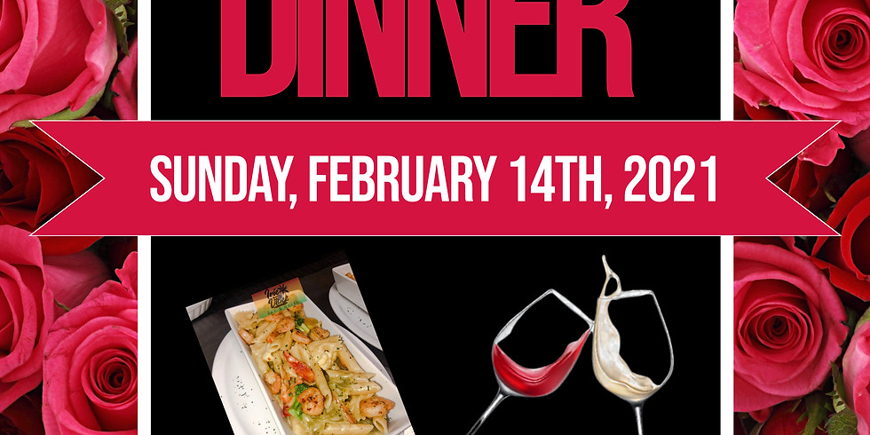 Valentine's Dinner For Two (Advanced Booking)