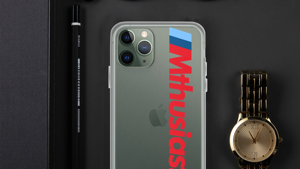 Mthusiast iPhone Case