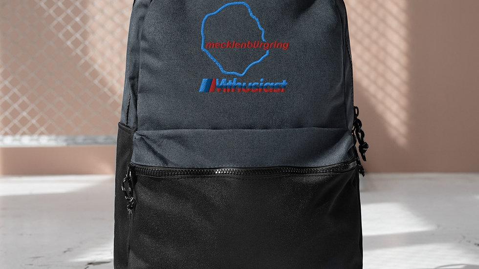 Mecklenburgring Embroidered Champion Backpack