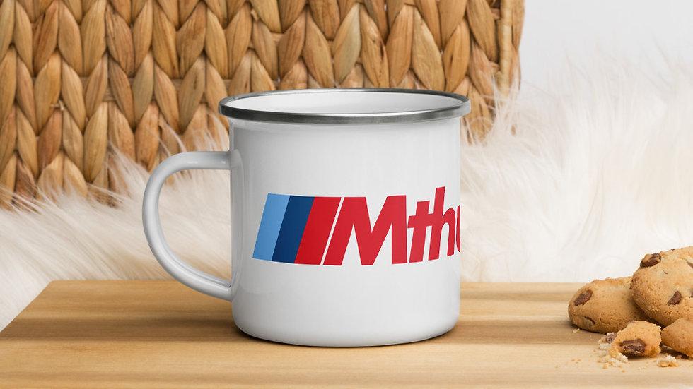 Mthusiast Enamel Mug