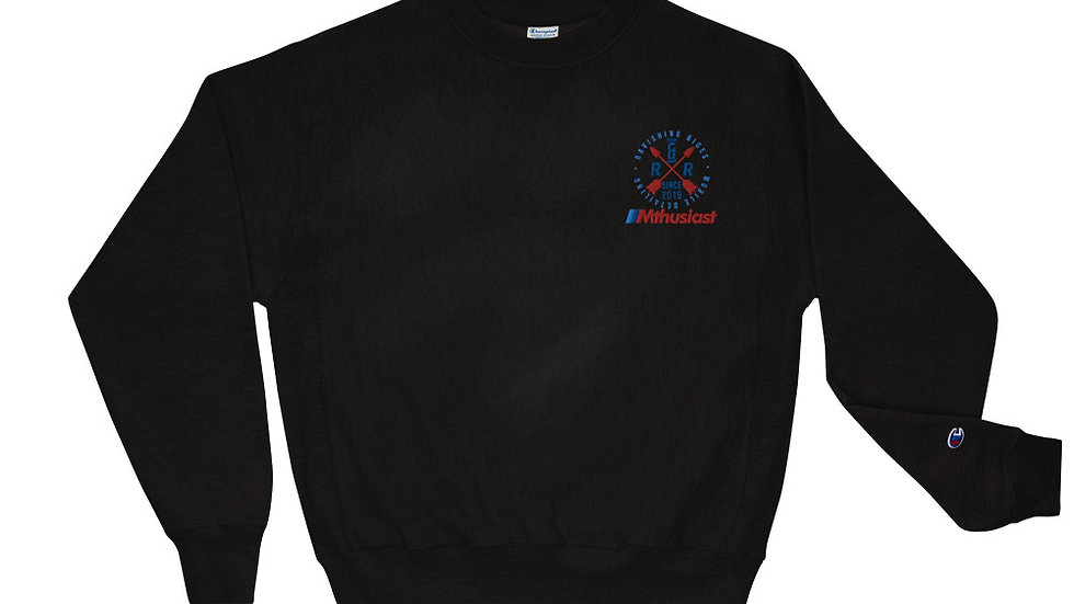 RRMDC x Mthusiast Champion Sweatshirt