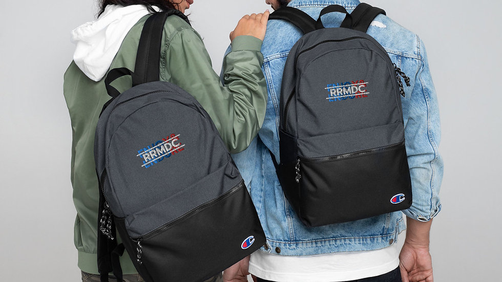 ENJOY & ENDURE Embroidered Champion Backpack