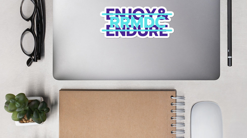 ENJOY & ENDURE Bubble-free stickers