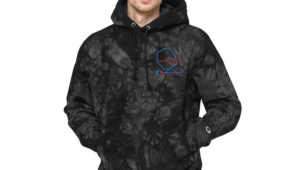 Mecklenburgring Unisex Champion tie-dye hoodie