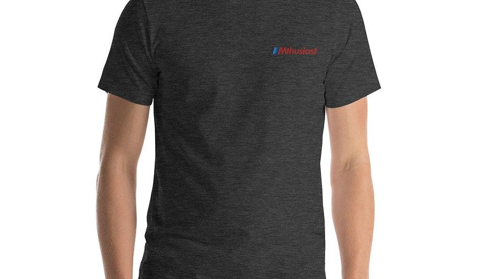 Mthusiast Embroidered Short-Sleeve Unisex T-Shirt