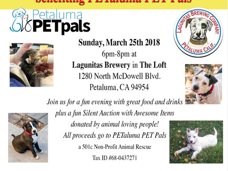 Pints for Pups and Purrs III