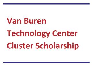 VBTC Cluster Scholarship - DUE 1/18/18