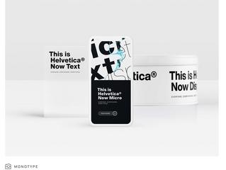 Helvetica Face Lift