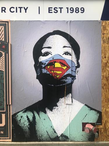 Street art seen on a walk near Seattle Coffee Works