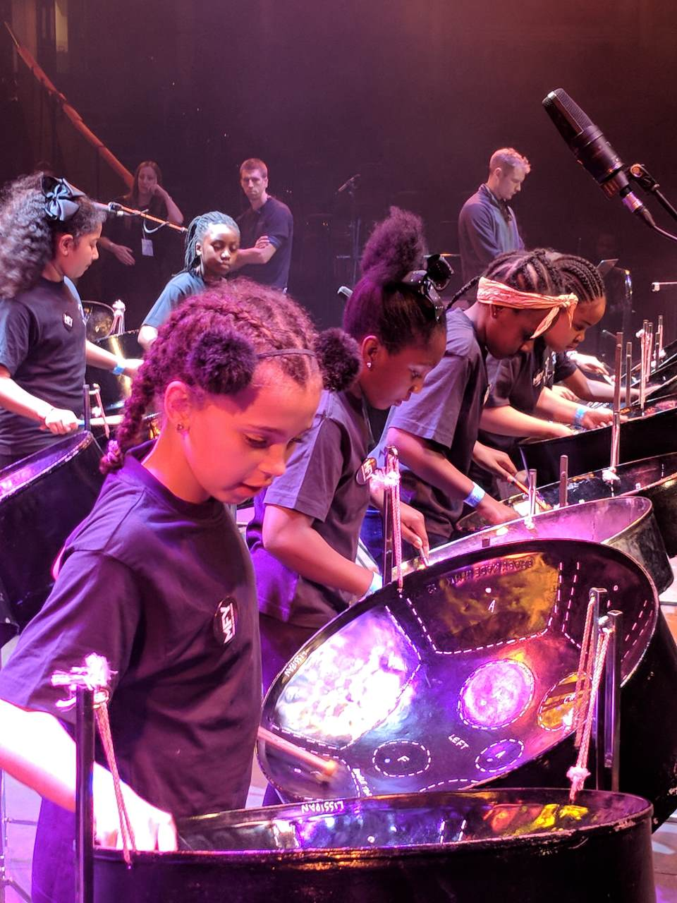 St. Anns - rehearsals at the Royal Albert Hall