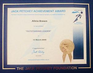 Jack Petchy - Teaching Award