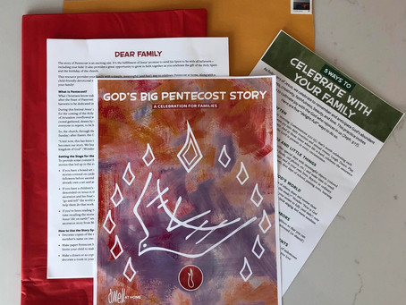 A Fabulous (and Free!) Idea to Help Families Celebrate Pentecost at Home