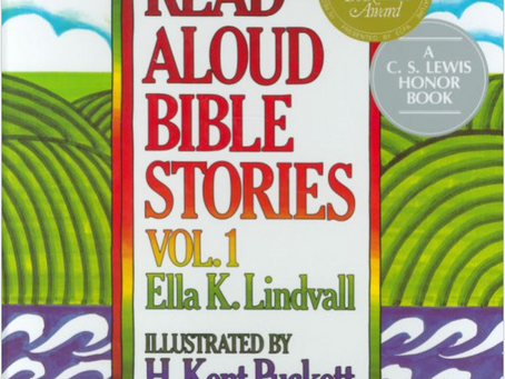 Book Rec: Read-Aloud Bible Stories, 1-5