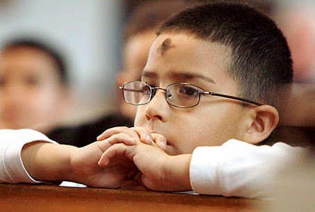 Ash Wednesday Observance with Children