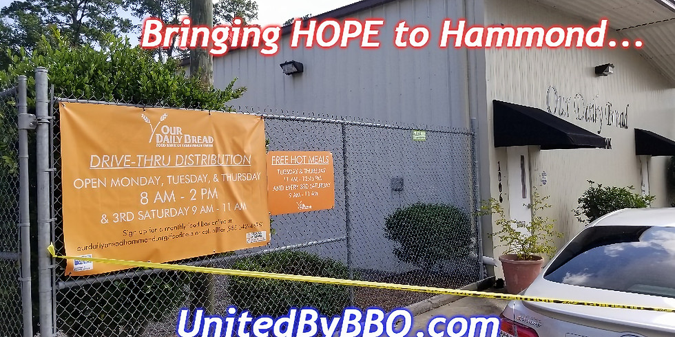Bringing HOPE to Hammond: Christening our pit